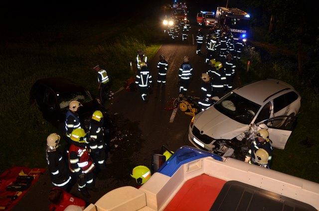Verkehrsunfall in Raab (c) FF Raab