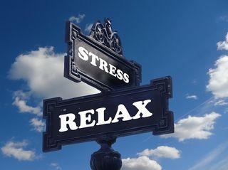 Vortrag über Stress.