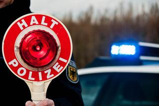 Eine Polizeikontrolle in St. Marienkirchen wurde dem Schärdinger Motorradlenker zum Verhängnis.