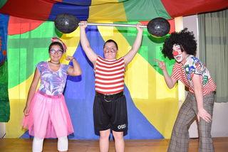 Zirkus Morio, Aso Langenstein. Michelle, Marcel und Lars.