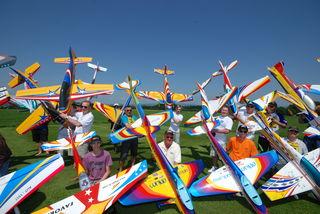 In Eggerding in starten Piloten aus elf Nationen. Es ist eine der größten Veranstaltungen dieser Art in Europa.