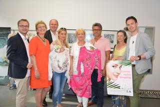 Erich Stubenvoll, Jutta Pemsel, Alfred Pohl, Nadine Koller-Barovsky, Melitta Koller, Peter Harrer, Maria Schöfmann und Manuel Bures