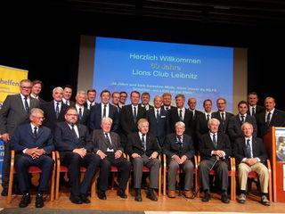 Die Mitglieder des Lions Club Leibnitz, die sich immer wieder in den Dienst für die Gesellschaft stellen, feiern heuer das 60-jährige Gründungsjubiläum. Höhepunkt im Jubiläumsjahr war dieser Tage ein großer Festakt im Kulturzentrum Leibnitz.