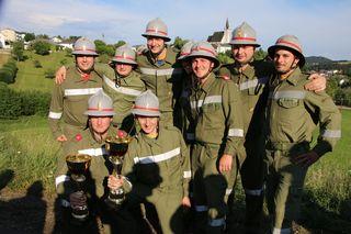 Sieger FF Riedersddorf, Abschnitts- Feuerwehr-Leistungsbewerb im Sportzentrum Pabneukirchen