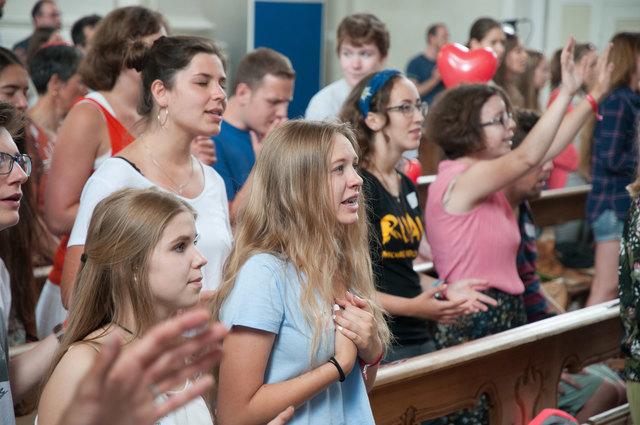 Herz-Jesu-Jugendfest in Wilten 2016