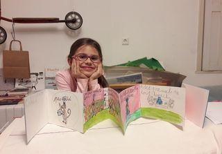 Klára Pulpánová (7 Jahre) besucht die Malakademie KIDS Waidhofen/Thaya