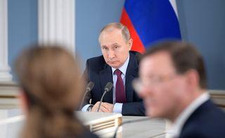 Der Trip nach Wien ist der erste Auslandsbesuch nach Putins Wiederwahl im März.