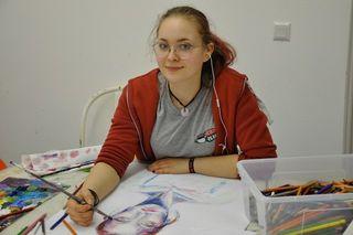Riccarda Wally, 17 Jahre, besucht die Malakademie Schrems