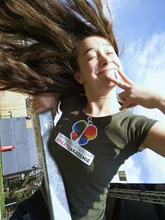 Stefanie Eisler, 17 Jahre, besucht die Malakademie Gänserndorf