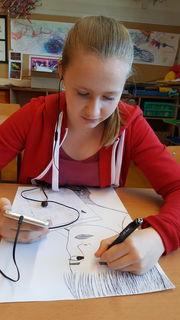 Carla Riegler, 14 Jahre, besucht die Malakademie Waidhofen/Ybbs