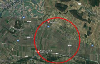 Der rund 200 Hektar große Verladeterminal könnte auch im Raum Trautmannsdorf angesiedelt werden.