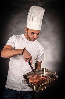 Verärgern Sie niemals den Koch!