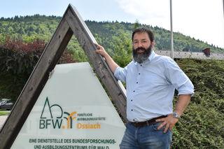 Martin Huber ist Organisator der Waldarbeitsmeisterschaft