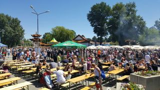 Von 7. bis 10. Juni steht der Donaupark ganz im Zeichen der musikalischen und kulinarischen Vielfalt.