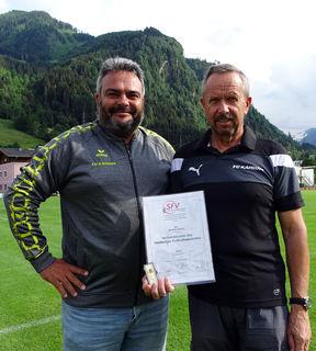 Thomas Mitterhauser und Manfred Herzog