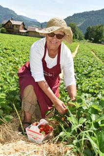 Erdbeergarten-Betreiberin Friederike Kohlweiss