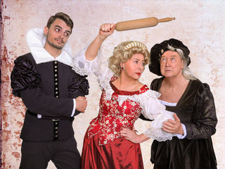 Dagmar Truxa, Rudolf Pfister und Rafael Witak in »Es war die Lerche«
