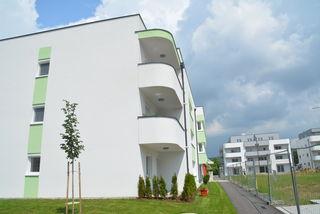 Der Wohnbau floriert in Pinkafeld, auch neue Unternehmen siedeln sich an.