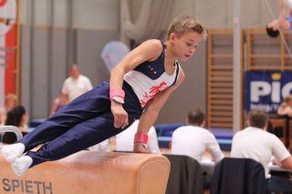WTV-Turner Lorenz Theischinger wurde mit dem U14-Team OÖ Vizestaatsmeister.