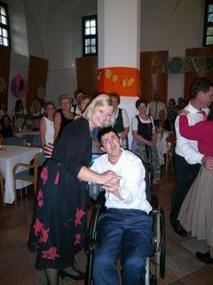 Kornelia Schön und Sebastian Knoblechner.