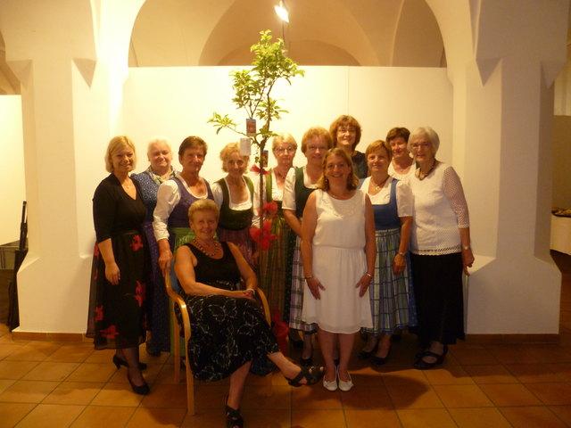Die Damen der Selbsthilfegruppe