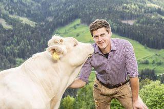 Bauer Christian glaubt an die Liebe auf den ersten Blick