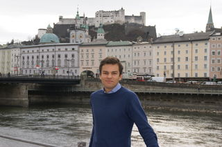 Lukas Rößlhuber ist neuer Neos-Klubobmann in der Stadt Salzburg.