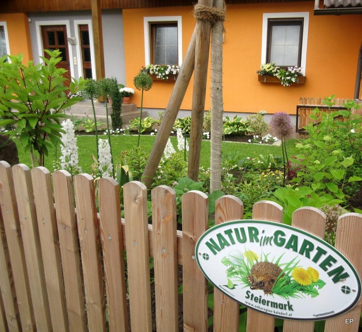 In Semriach Die Erste Natur Im Garten Plakette Graz Umgebung