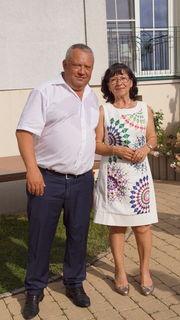 Rudi Strommer und seine Frau Erna begrüßten die Gäste.