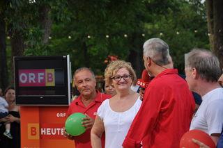 Maria Krammer trat gegen Wolfgang Unger an.