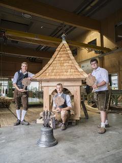 """Das Projekt """"Glockenturm"""" wurde mit dem ersten Platz belohnt."""