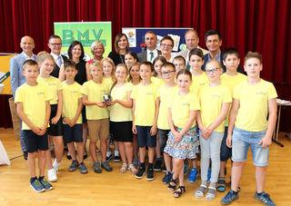 Die Kinder der Volksschule Neusiedl wurden ausgezeichnet.
