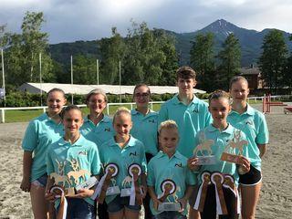 Die Voltigierer vom UVRV Badhaus zeigten beim Cupfinale in Zell am See ihre große Klasse.
