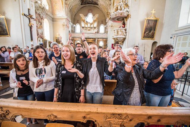 Besucherrekord von 500 Teilnehmern beim Herz-Jesu-Jugendfest