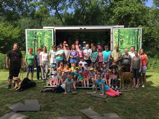 Die Jagdgesellschaft Strem organisierte den Tag für die Volksschul- und Kindergartenkinder.