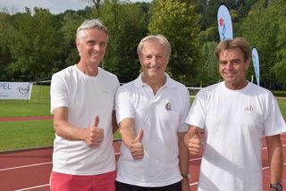 Organisationsteam: Anton Gschiel, Johann Kießner-Haiden und Günther Wojta.