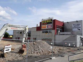 Das Dieselkino investiert sechs Millionen in den Standort Gleisdorf. Der Umbau ist bereits voll im Gange.