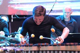 Multipercussionist Martin Grubinger in Action.