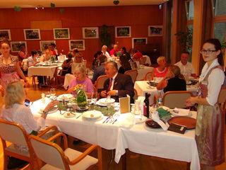 Beim jüngsten Prüfungsessen der Tourismusschulen Bad Gleichenberg wurde für die Gäste groß aufgetischt.