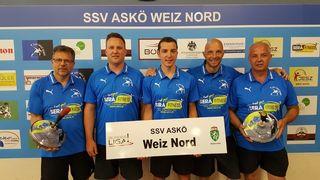 Mit dem Gruppensieg gibt es nun am Wochenende im Viertelfinale der Bundesliga I gegen Alkoven eine Heimpartie für den SSV Weiz Nord.