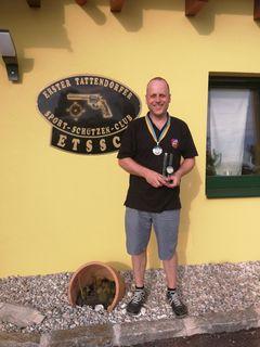 Zum fünften Mal Cupsieger: Thomas Mainz.