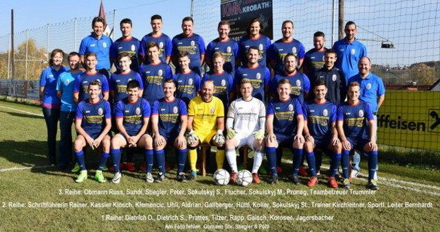 Die Kampfmannschaft des FC St. Nikolai im Sausal beendete die Saison auf dem fünften Tabellenplatz.