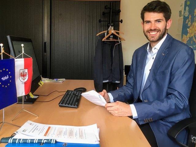 Andreas Hauser arbeitet im Tirol Büro in Brüssel.