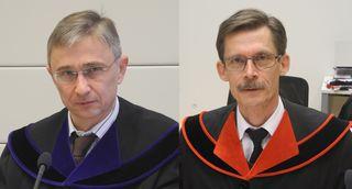 Schlagkräftiges Justizteam am Landesgericht Korneuburg: Richter Manfred Hohenecker und Erster Staatsanwalt Friedrich Köhl.