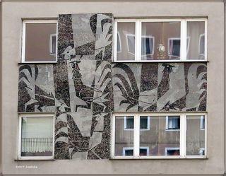 Mosaik Hähne