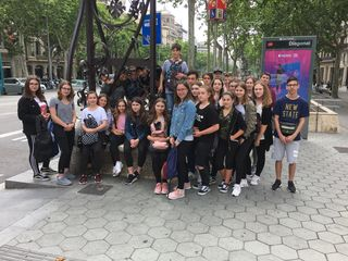 Die Schüler der NMS Rechnitz verbrachten vier abwechslungsreiche Tage in Barcelona.