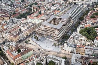 Das Projekt soll sich in die bestehenden Viertel eingliedern. Der höchste Punkt ist mit 58 Metern bemessen.
