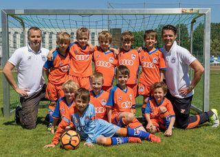Die Nachwuchsmannschaft U7 des FC Klosterneuburg hat die besten Voraussetzungen.
