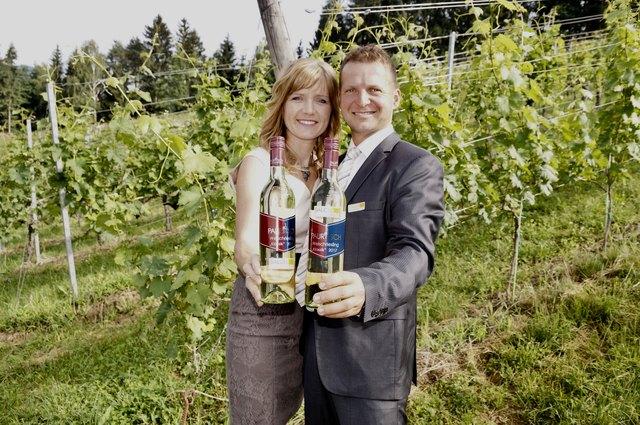 Den besten Welschriesling in ganz Österreich stellen Andrea und Stefan Pauritsch.