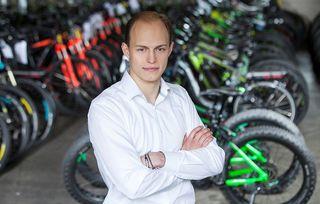 """""""Greenstorm""""-GF Philipp Zimmermann will bis 2020 50.000 E-Bikes verkauft haben."""